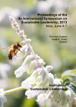 Cover of the proceedings for the 8th International Symposium on Sustainable Leadership